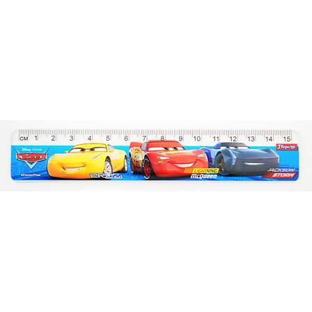 """Линейка 15 см """"Cars"""", фото 2"""