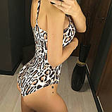 Женский Купальник слитный леопардовый, фото 8