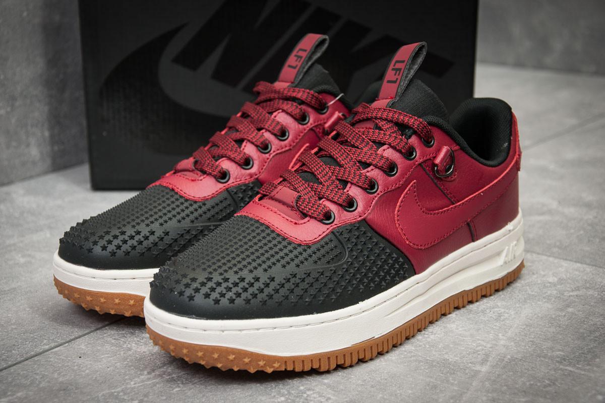 Кроссовки мужские  в стиле Nike  LF1, бордовые (11751)(нет на складе)
