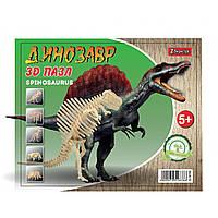 """Набор 3D пазл динозавр """"Little Spinosaurus"""", деревянный."""