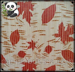 "Бамбуковые обои ""Осень"", 0,9 м, ширина планки 17 мм / Бамбукові шпалери"