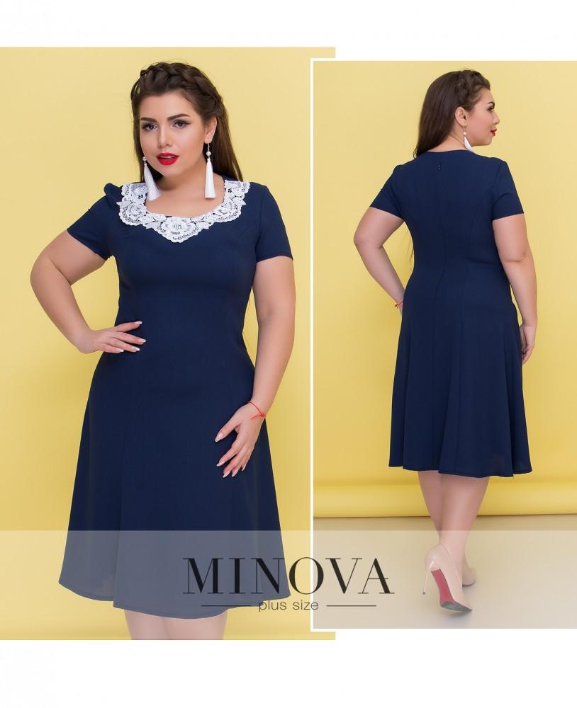 Сукня №290Б-темно-синій Розміри 62,