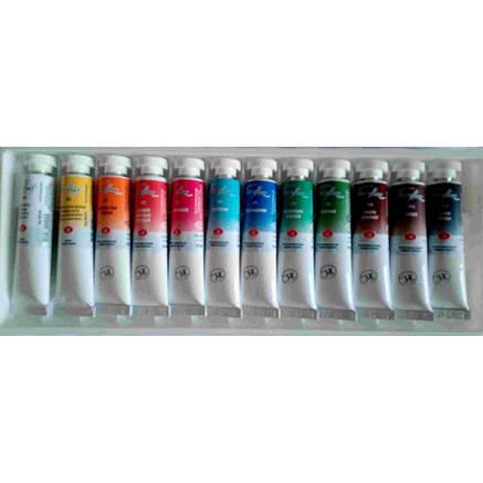 Набор акварельных красок Белые ночи, 12 цв  IWS, фото 2