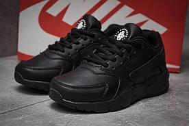 Кроссовки женские  в стиле Nike Air, черные (14063) [  37 (последняя пара)  ]