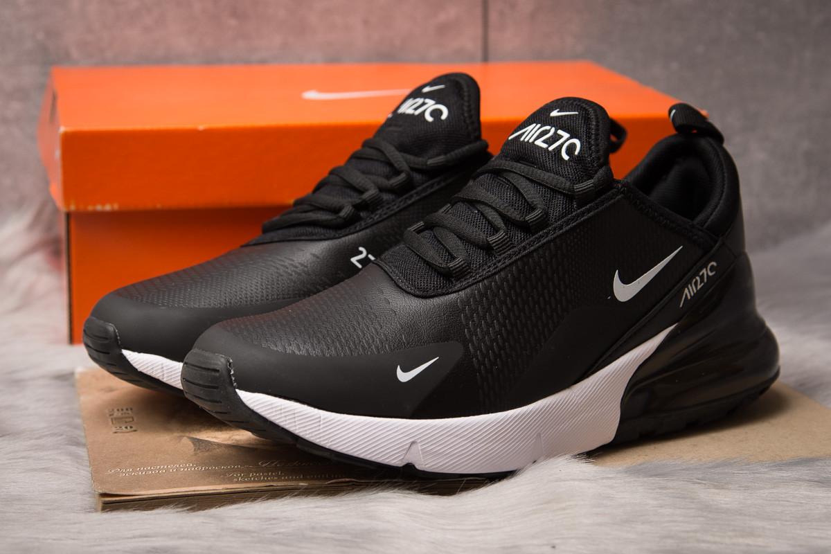 Кроссовки мужские  в стиле Nike Air 270, черные (15302) [  44 (последняя пара)  ]