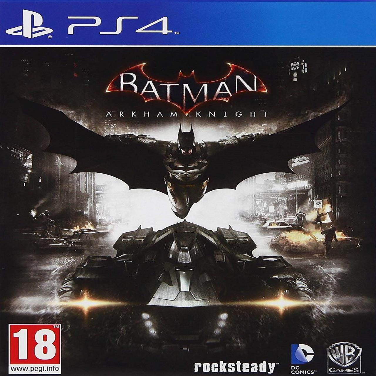 Batman:Arkham Knight (російські субтитри) PS4 (Б/В)