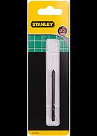 Свердло по плитці склу  Stanley d=5 мм L= 70 блістер