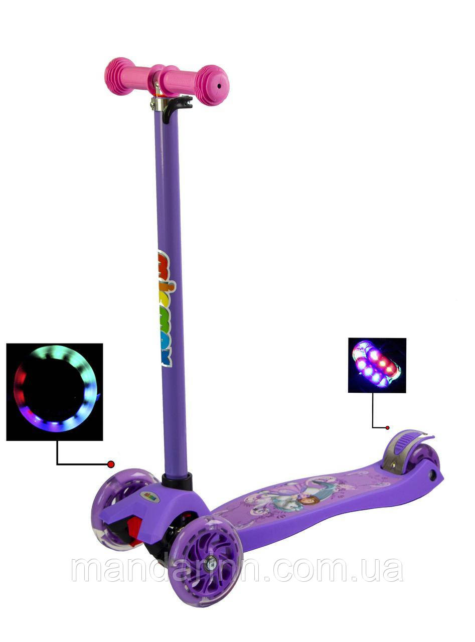 Самокат Maxi Scooter Disne Unicorn Princess