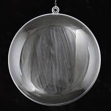 """Набор пластиковых форм """"Плоский шар"""", 11 см, 5шт/уп"""