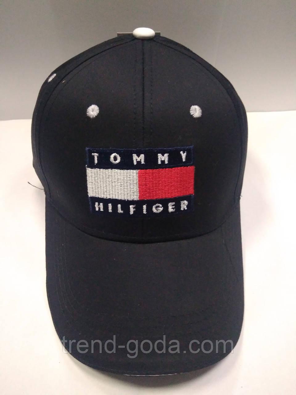 Кепка унисекс черная Tommy Hilfiger (реплика)