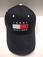 Кепка унисекс черная Tommy Hilfiger (реплика), фото 1