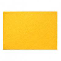 Набор Фетр жесткий, темно-желтый, 21*30см, 10листов (Иран)