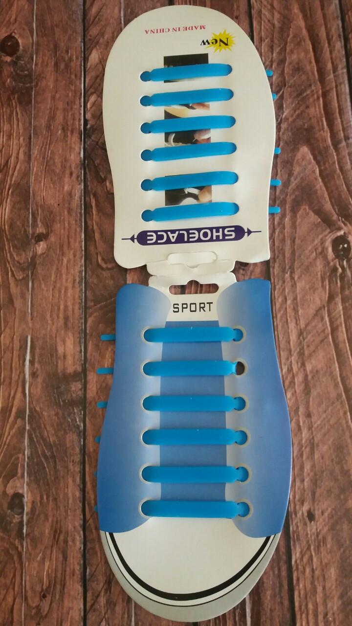 Силиконовые шнурки для обуви 6+6 12шт/комплект