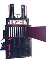 Пакетировочный пресс гидравлический на 2 цилиндра для отходов макулатуры, пластиковой тары, ПЭТ