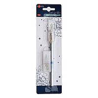 Нож макетный для дизайнерских работ со сменными лезвиями, 3 шт
