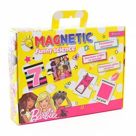"""Пазл магнитный развивающий А4 """"Funny science"""" """"Barbie 1"""", фото 2"""