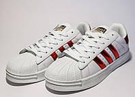 Кроссовки женские Adidas Superstar (реплика) 30016