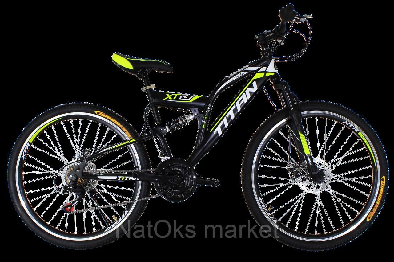 "Велосипед Titan Panther 26"" Black-Lime-White"
