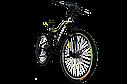 "Велосипед Titan Panther 26"" Black-Lime-White, фото 2"