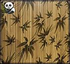 "Бамбуковые обои ""Листья бамбука"" коричневые, 1,5 м, ширина планки 8 мм / Бамбукові шпалери, фото 3"