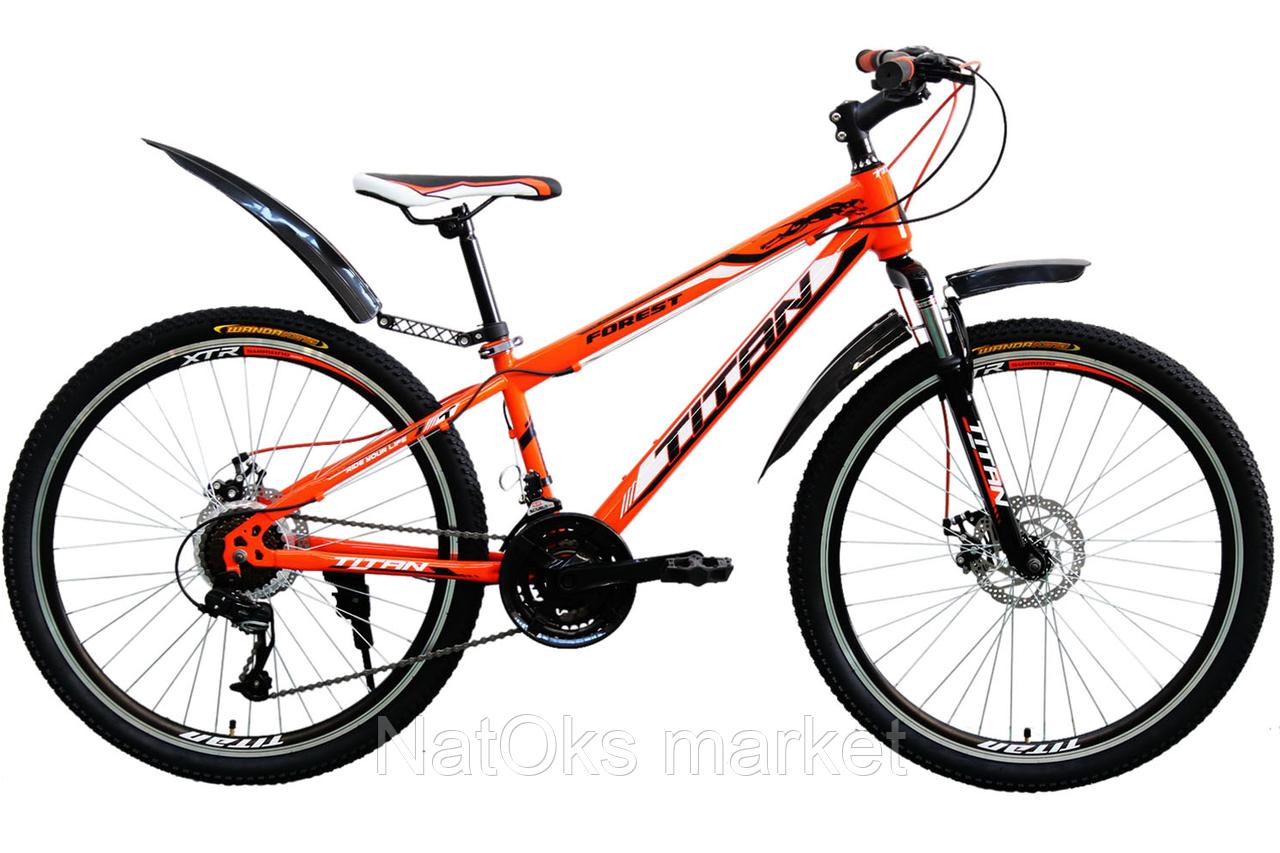 "Велосипед Titan Forest 26"" Orange-Black-White"
