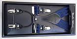 Синие подтяжки для мужчин Paolo Udini узором, фото 2