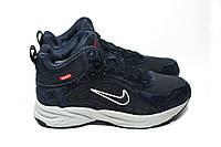 Зимние кроссовки (на меху) мужские Nike Zoom 1-026 (реплика)