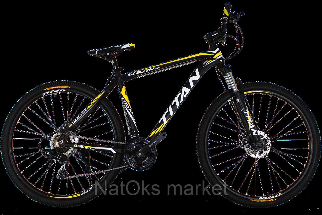 """Велосипед Titan Solar 29"""" Black-Yellow-White"""
