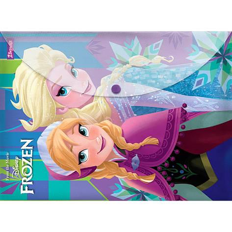 "Папка-конверт на кнопке А4 ""Frozen"", фото 2"