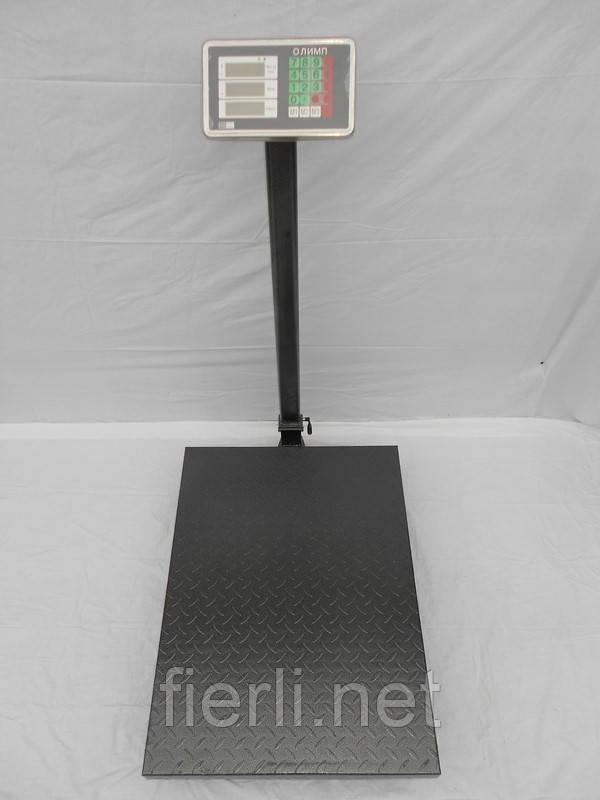 Платформенные  весы  Олимп TCS-K4 (600 кг).  800х600 мм.