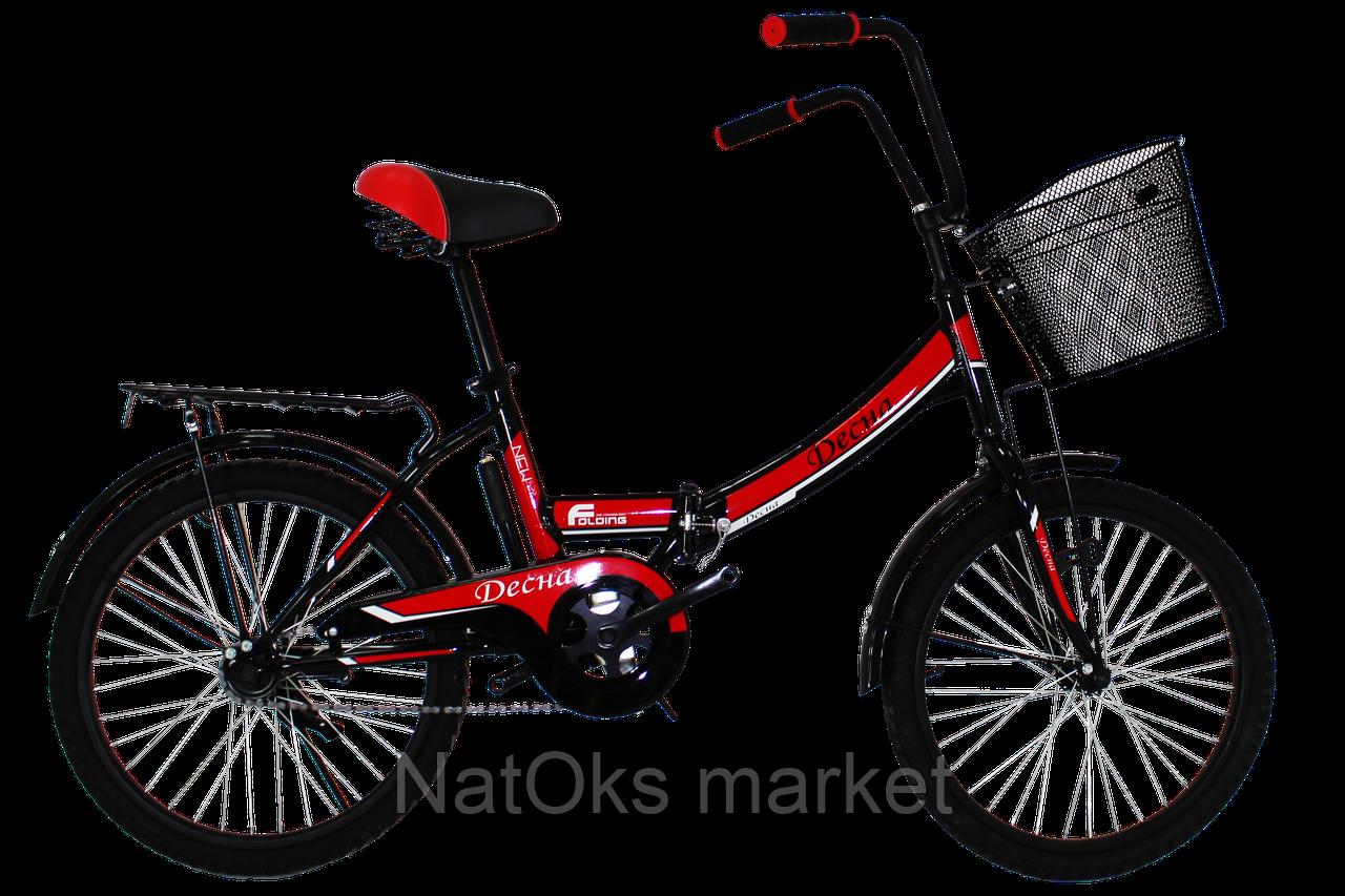 "Велосипед Titan Десна 20"" Black-Red"
