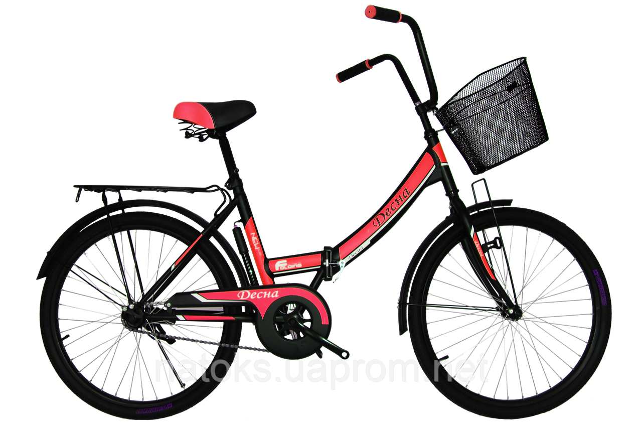 "Велосипед Titan Десна 24"" Black-Red"