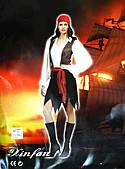 Костюм Леди-пират (взрослый) XL 020316-105