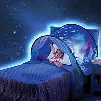 Детская палатка «Dream tents»/Ночник тент на кровать
