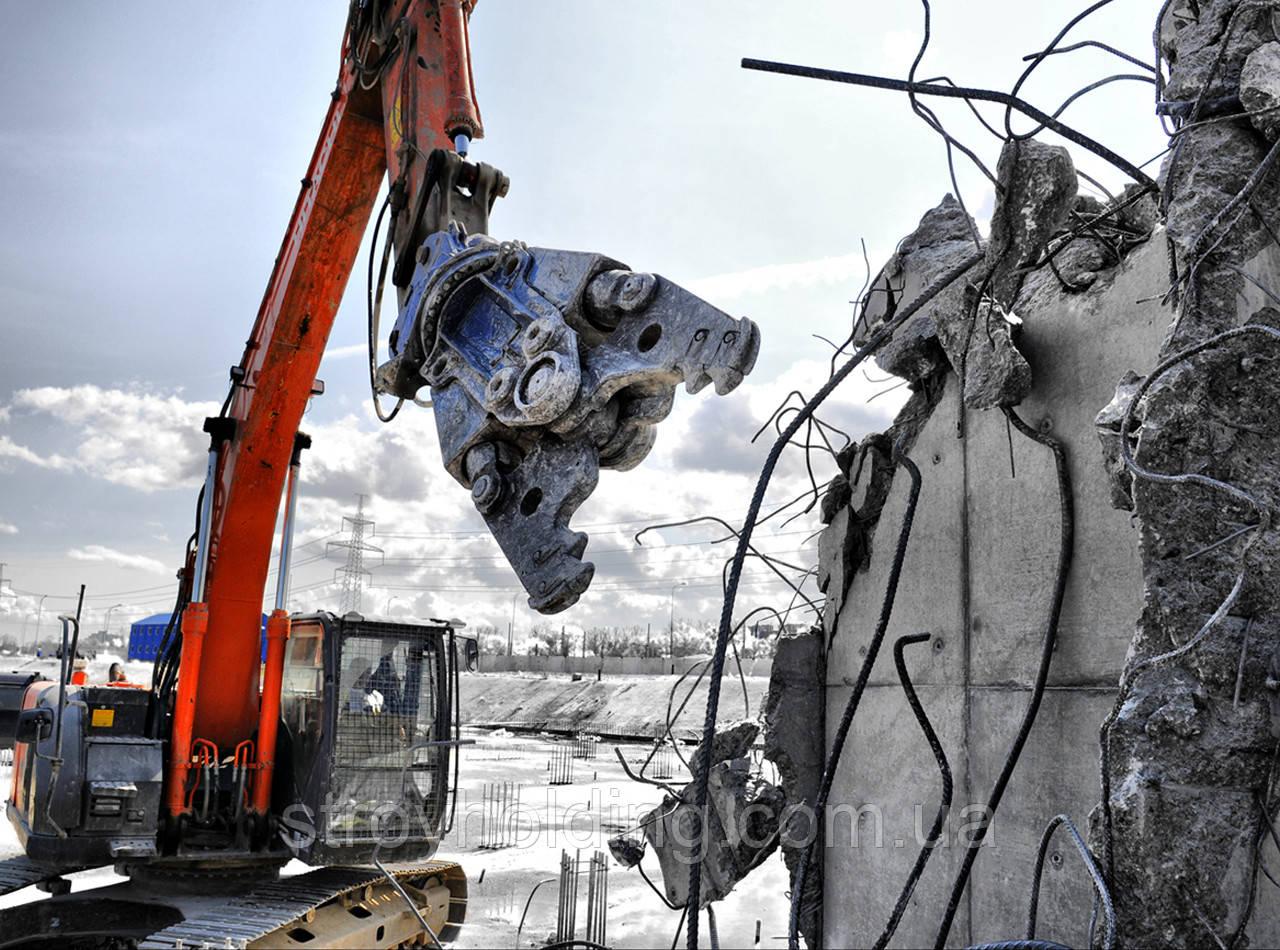 Демонтаж зданий демонтажные работы в Одессе