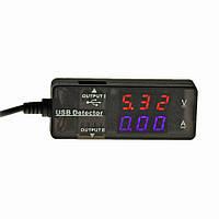 ☝Универсальный вольтметр-амперметр Lesko KW-203 USB-измеритель силы тока и напряжения детектор напряжение 12V