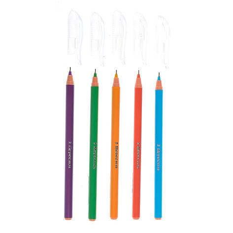 """Ручка  шариковая/масляная """"Plaza Pine"""" синяя, фото 2"""