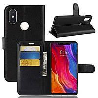 Чехол-книжка Litchie Wallet для Xiaomi Mi 6 Черный