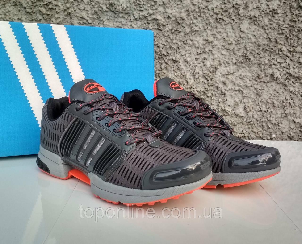 621edf33013c3e Кроссовки мужские в стиле Adidas ClimaCool 1 серые с оранжевым - TopOnLine  – обувной интернет-