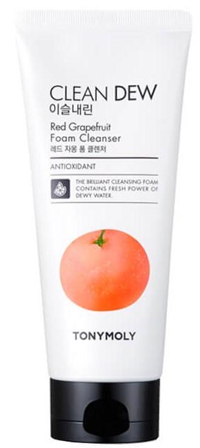 Очищающая пенка для умывания с красным грейпфрутом Tony Moly Clean Dew Red Grapefruit Foam Cleanser  180 мл