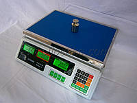 Торговые весы Олимп ACS-A9 40 кг (деление 5 гр)