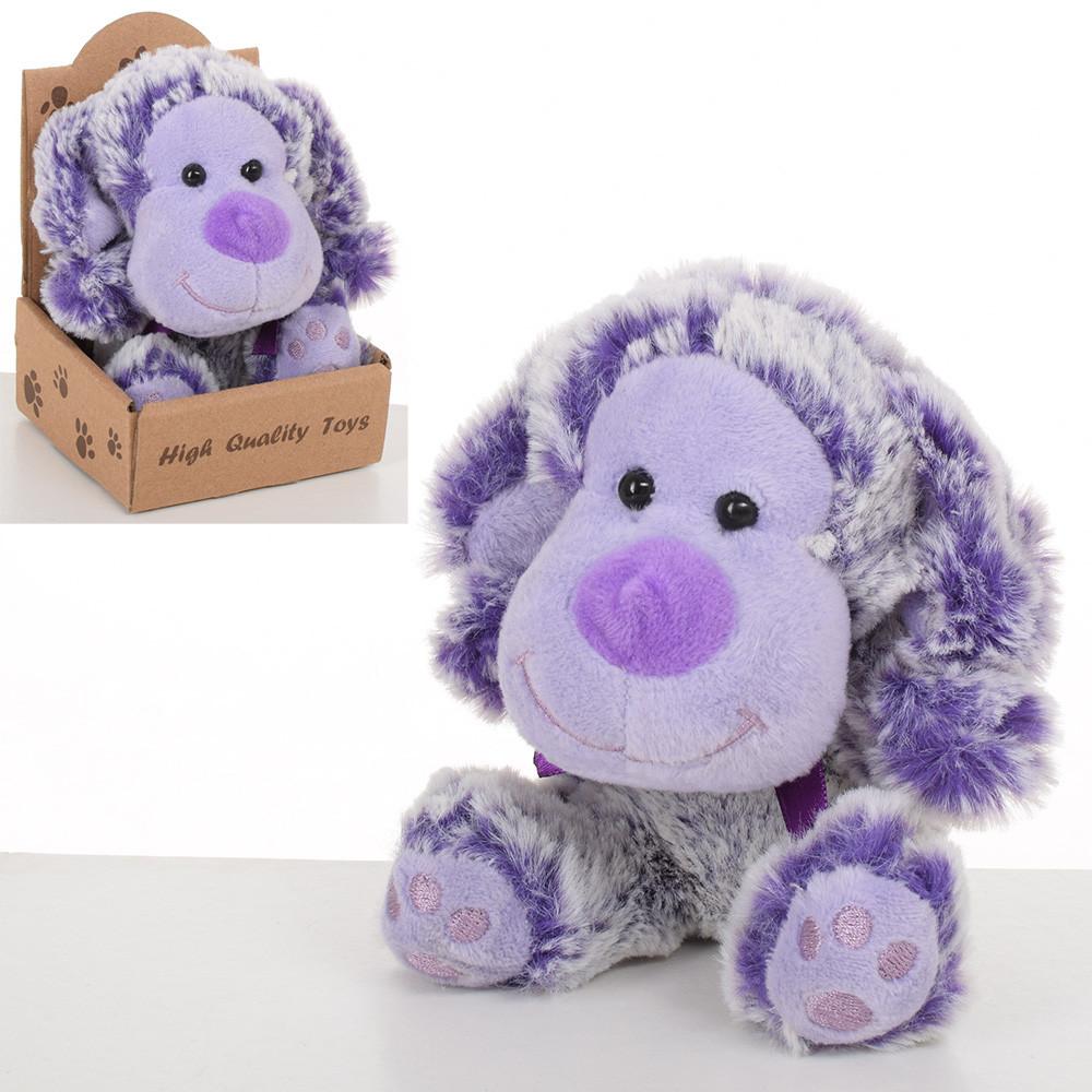 Мягкая игрушка MET10122 Собачка, 12 см