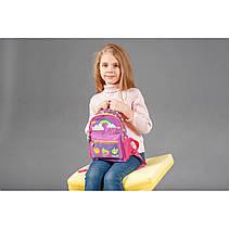 Рюкзак детский K-16 Smile, 22.5*18.5*9.5, фото 3