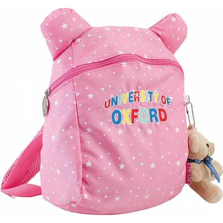 Рюкзак детский OX-17, розовый, 20.5*28.5*9.5, фото 2