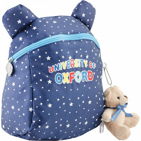 Рюкзак детский OX-17, синий, 20.5*28.5*9.5, фото 2