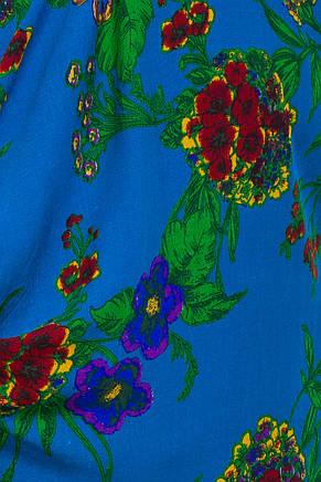 Женское платье  с завязками по боках  1281-1, фото 3