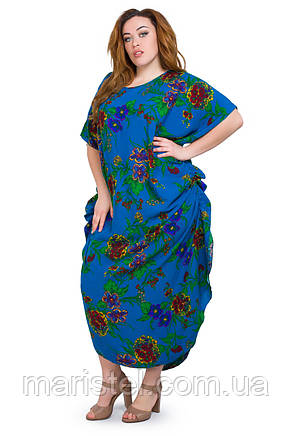 Женское платье  с завязками по боках  1281-1, фото 2