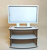 Игрушка Телевизор с тумбой  для кукол Барби, Братц, Монстер Хай, фото 1