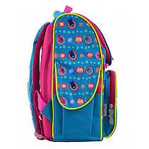Рюкзак каркасный H-11 Trolls turquoise, 33.5*26*13.5, фото 3