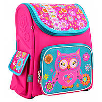 Рюкзак школьный ортопедический каркасный H-17 Owl, 34.5*28*13.5